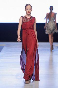 Lima Fashion Week: Sitka Semsch impresses with Inca princess gowns - Peru this Week