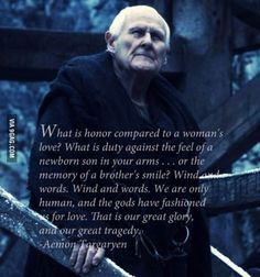 The true one quote from A Song of Ice and Fire