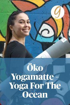 """Bei der """"Ocean Mat"""" handelt es sich um eine Öko Yogamatte. Southern Shores setzt sich für den weltweiten Walschutz ein. YogaForTheOcean ist ihr Motto."""