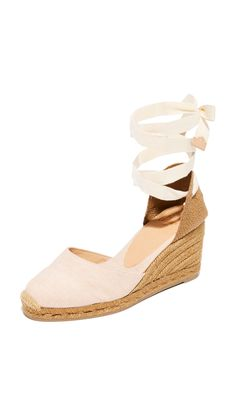 ff71ecec26f7 castaner washed canvas wedge espadrilles Jeweled Shoes