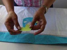 Jogo de lençol para berço passo a passo .Com Arte de Paninho - YouTube