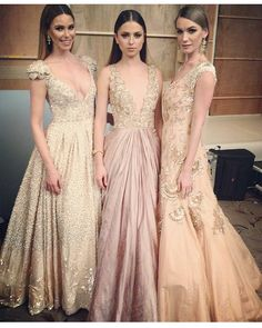 """Pretty pretty! Soft and romantic gowns by Manish Malhotra!  #manishmalhotra #mminsider #manishmalhotracollection #love #gown #blush #pink #fashion…"""