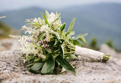 15 Herb Bouquets (And What They Symbolize!) | Photo by: Photo: Christina Bernales | TheKnot.com