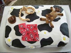 farm themed baby shower cakes   baby shower cakes cowboy themed baby shower requires a cowboy themed ...