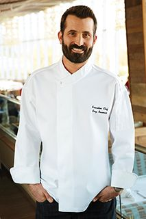 ours Cool Vent Executive Chef Coat [PCDF]