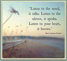Luisteren leer je In de stilte