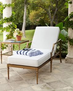 Sophia Outdoor Single Chaise