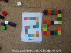 En clase nos encanta jugar con los policubos, ya os enseñamos algunas de las actividades que realizamos con este material. Pecs Book, Homeschool Math, Homeschooling, Practical Life, Reggio Emilia, Kindergarten Math, Math Games, Diy For Kids, Board Games