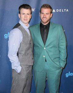 Chris and Scott Evans Chris's younger brother Scott is also an actor; he's starred on One Life to Live, Fringe, and White Collar. Source: Getty / Barry King
