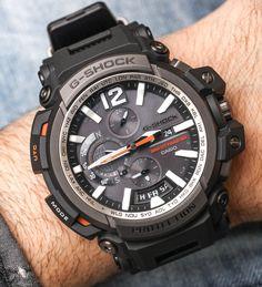 Casio G-Shock Gravitymaster GPS del reloj de Bluetooth Hands-On Hands-On Casio G-shock, Casio Watch, Best Watches For Men, Luxury Watches For Men, Stylish Watches, Cool Watches, Wrist Watches, G Shock Price, Fossil