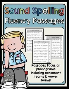 I created these Fluency Passages to go with my Sound Spelling Lists and Worksheets Pack. Each passage focuses on a different phonogram or special spelling.  The passages are entirely decodable. Each passage features a special spelling with the other words being CVC words, CVCC words, CCVC words, and sight words from the Dolch Sight Word List.
