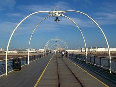 Southport pier Southport Pier, Days Out, Vintage Posters, Seaside, Travel, Poster Vintage, Viajes, Beach, Destinations