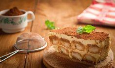 Das Tiramisu Original-Rezept mit Ei, Mascarpone, Kaffee und einem Gutsch Alkohol ist eines DER Dessert-Rezepte. Tipp: Vorbereiten, kühlstellen - geniessen.