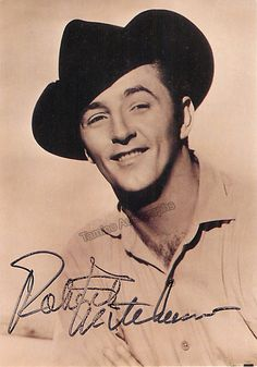 Mitchum, Robert - Signed Photo