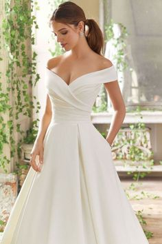 Blu by Morilee 5712 Providence Shoulder Satin Ball Gown .- Blu by Morilee 5712 Vorsehung aus der Schulter Satin Ballkleid Brautkleid Blu by Morilee 5712 Providence Shoulder Satin Ball Gown Wedding Dress, dress - Western Wedding Dresses, Cute Wedding Dress, Best Wedding Dresses, Bridal Dresses, Modest Wedding, Wedding Dress With Pockets, Bridesmaid Dresses, Backless Wedding, Perfect Wedding