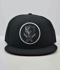 Jason Ellis Wolfknives Circle Patch Snapback Hat - MEMBERS ONLY