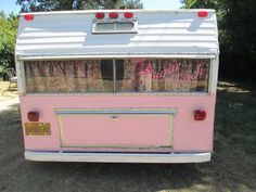 Pink Vintage 1969 Shasta Travel Trailer