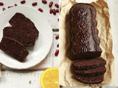 Pečení bez mouky... Čokoládovo-fazolový chlebíček - Delicious blog