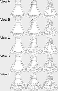 Download Grace Ruffle Dress Sewing Pattern | Featured Products | YouCanMakeThis.com