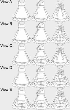 Ruffle Pattern