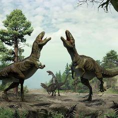 El amor entre dinosaurios: se cortejaban como pájaros