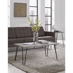 Altra Retro Metal and Iron Coffee Table