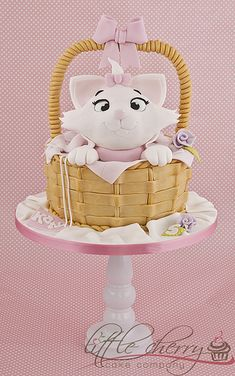 Aristocats Marie Cake