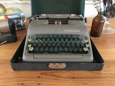 Specializing in WORKING antique and vintage typewriters by HelloMonte Smith Corona Typewriter, Royal Typewriter, Working Typewriter, Typewriter For Sale, Antique Typewriter, Portable Typewriter, Biewer Yorkie, Vintage Typewriters