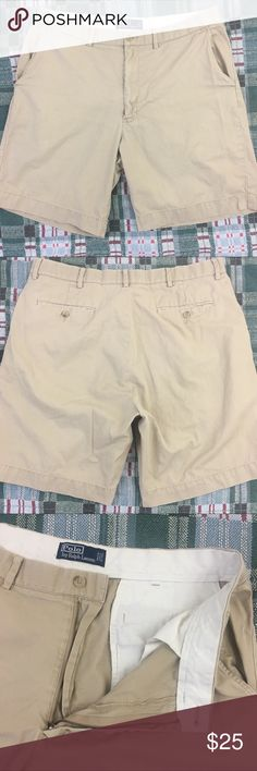 Polo by Ralph Lauren Shorts Men's Size 36 Waist Brand: Polo by Ralph Lauren  Condition: This item is in Good Pre-Owned Condition! There are NO Major Flaws with this item, and is free and clear of any Noticeable Stains, Rips, Tears or Pulls of fabric. 💥 Small Spot (pictured above). Overall This Piece Looks Great and you will love it at a fraction of the price!  Material: 100% Cotton  Size: 36 Waist  💥Top Rated Seller 💥Top 10% Seller 💥Top 10% Sharer 💥Posh Mentor 💥Super Fast Shipping…