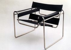 Famous chair designed by Marcel Breuer, 1925/26.