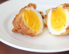 Fried Bacon Eggs