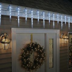 ge twinkling led crystal icicle decorative holiday lights 19 icicle countset 9ft25m this is