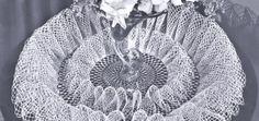 Free Frou Frou Ruffle Doily Pattern - Vintage Patterns Dazespast Blog
