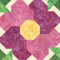 My Flower Patch Quilt Morning Rose Block on Pam's Club at http://pamsclub.com/index.php?category_id=27&page=shop.product_details&product_id=327&Itemid=71&option=com_virtuemart&vmcchk=1&Itemid=71