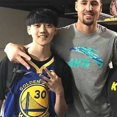 Klay with Yan Xujia Ziazia  yesterday. #klaythompson11🏆🏆#goldenstatewarriors🏀#3timenbaallstar11🏀#2timenbachampion💍💍 #splashbrother🌂☔💧💧 #nbagobalgames2017 #gswarriors #godubs🏀#dubnation💙💛 #GSW #wearewarriors💙💛#2017performanceoftheyear #chinagames2017 #warriorsbasketball #nba #chinaklay2017🎎🎎🎎#gswhoops🏀🏀🏀🏀#strengthinnumbers💪 💪#warriorsnation💙💛 #2016olympicgoldmedal #nbachampion2015🏀🏀 #godubs💙💛 #klay11 #gowarriors💙💛 #bayareawarriors #letsgowarriors💙💛…