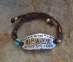 Cowgirl Bling WITH BRAVE WINGS SHE FLIES ARROWS Turquoise Gypsy Boho Western #Unbranded #chain