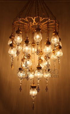 Omg...how stunning this is! Ottoman Chandelier