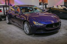 Motor City Exotics: The Gallery at the 2015 Detroit Auto Show. Maserati, my dream car.