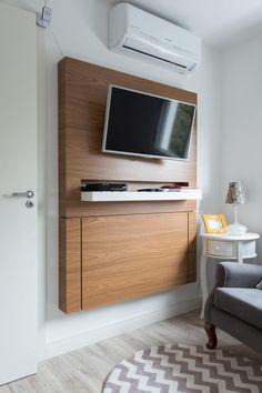 Camera da letto in stile in stile Moderno di Kali Arquitetura