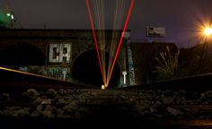 the attatched the camera to the train tracks to get this picture check it out!