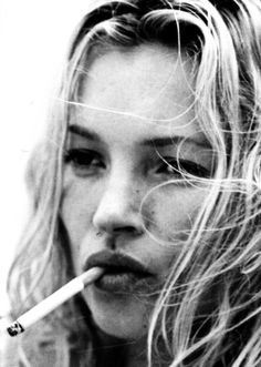 Kate Moss being Kate Moss
