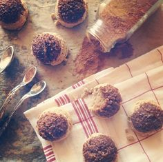 The Spunky Coconut: Cinnamon Cake Bites