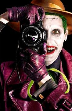 Smile. #jared #leto #joker