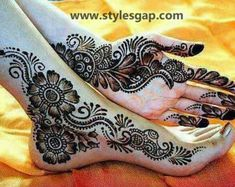 Latest Fancy & Stylish Mehndi Trends & Designs Collection 2016-2017 (29)