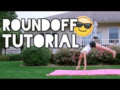 How to do a Roundoff for Beginners - YouTube