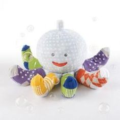 Mr. Sock T. Pus Plush Octopus - the socks come off so the baby can wear them!
