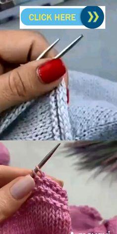 ideas for beginners diy Особые схемы вязания Knitting Videos, Easy Knitting, Knitting For Beginners, Loom Knitting, Knitting Stitches, Knitting Needles, Baby Knitting Patterns, Knitting Designs, Crochet Patterns
