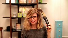 "Hair Dresser On Fire HDOFBlog.com ""Messy Waves"" Tutorial by Reagan Breinholt by Jacob Breinholt. In this video, Reagan Breinholt (author of hdofblog.com) demonstrates how to style messy waves with a curling iron."