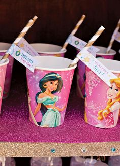 FREE Printables: Sparkly Disney Princess Birthday Party