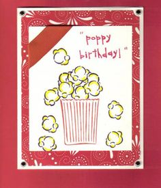 Poppy birthday! by stampingPaige - Cards and Paper Crafts at Splitcoaststampers